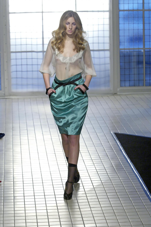 С чем носить юбку тюльпан 8