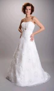 Свадебное платье в стиле ампир фото