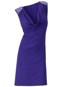 фото василькового платья