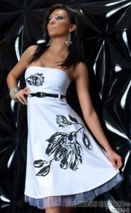 модные платья без бретелек