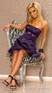 платья без бретелек