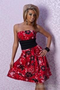 платье без бретелек фото