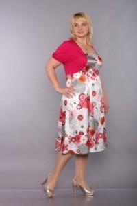 платья для полненьких фото
