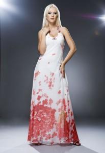 макси платье с цветами фото