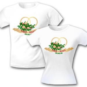 футболки для молодоженов фото