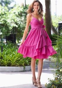 фото платьев с завышенной талией
