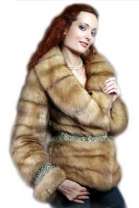 модная меховая куртка сезоная осень 2010-2011 фото