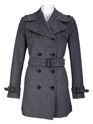 военное женское пальто фото