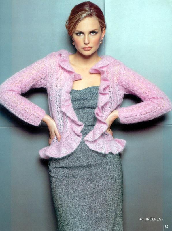 Миниатюра к статье Модные вязанные кофты на осень