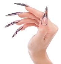аквариумный дизайн ногтей