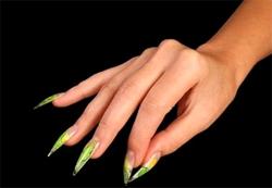 аквариумные ногти, аквариумный дизайн ногтей