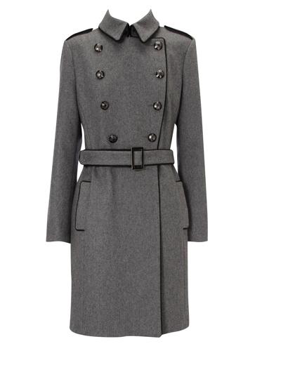 Миниатюра к статье Двубортное пальто в военном стиле