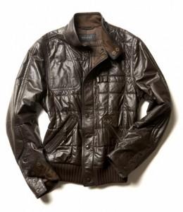 модная мужская кожаная куртка