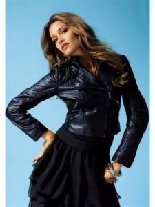 модная кожаная куртка фото