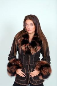 модные женские дубленки зима 2010-2011 фото