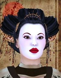 Миниатюра к статье Японский макияж. Техника нанесения макияжа гейши