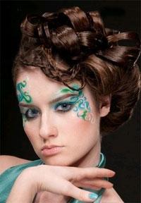 фантазийный макияж фото