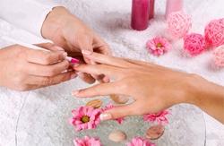 как правильно накрасить ногти фото