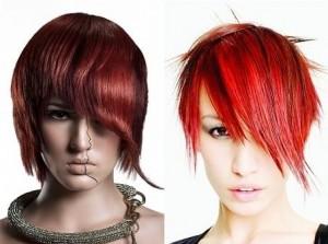 модные окрашенные волосы фото
