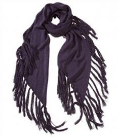 шарфы с бахромой