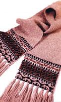 шарфы с бахромой фото