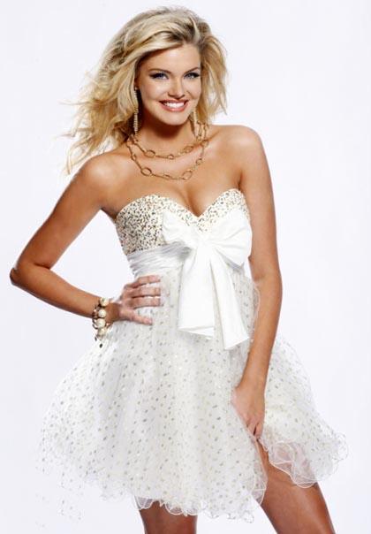Вечерние и выпускные платья 2011 от Sherri Hill.