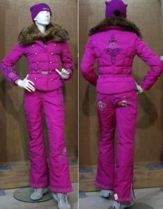 фото модного горнолыжного костюма