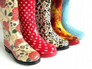 модные резиновые сапоги 2011