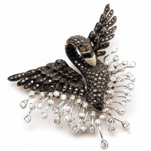 модные ювелирные украшения с бриллиантами