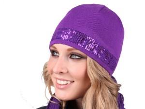 модные вязаные шапки весна 2011 фото