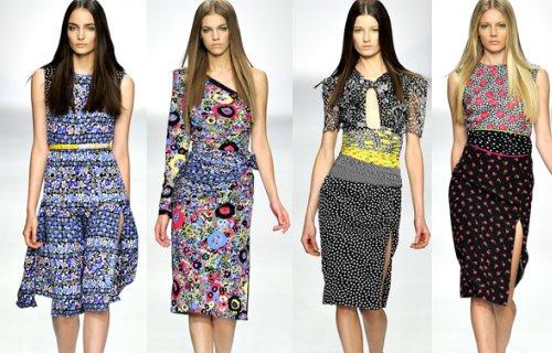 Модные платья весна лето 2011