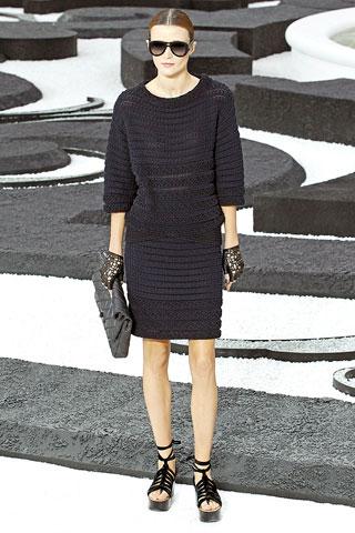 Вечерние гипюровые платья.  Chanel коллекия платьев.