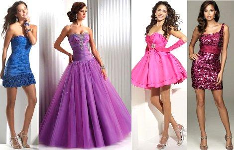 Представлены модные выпускные платья