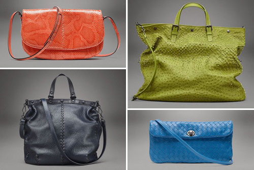 Bottega Veneta - модные сумки весна/лето 2011.