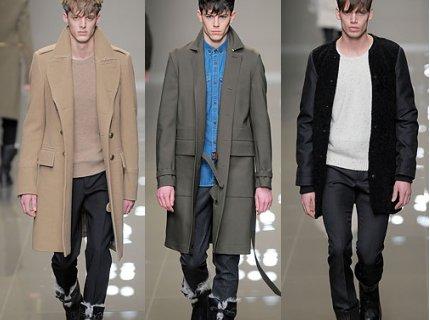 модное мужское пальто осень 2011 фото