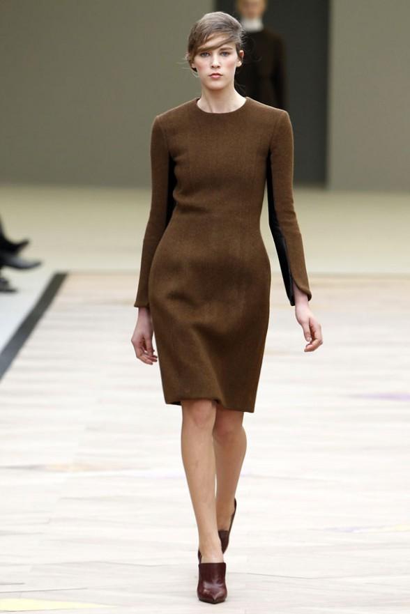 модные платья осень-зима 2011 фото