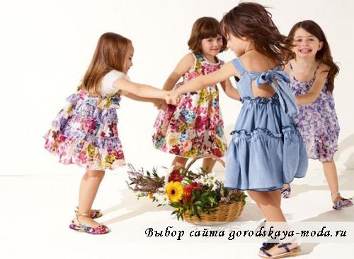 модная детская одежда осень 2011 фото