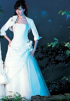 Миниатюра к статье Модные свадебные платья зима 2011-2012