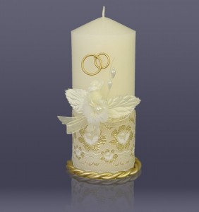 свадебные свечи фото