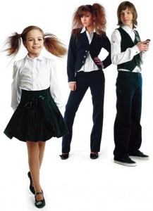 модная школьная форма для девочек фото