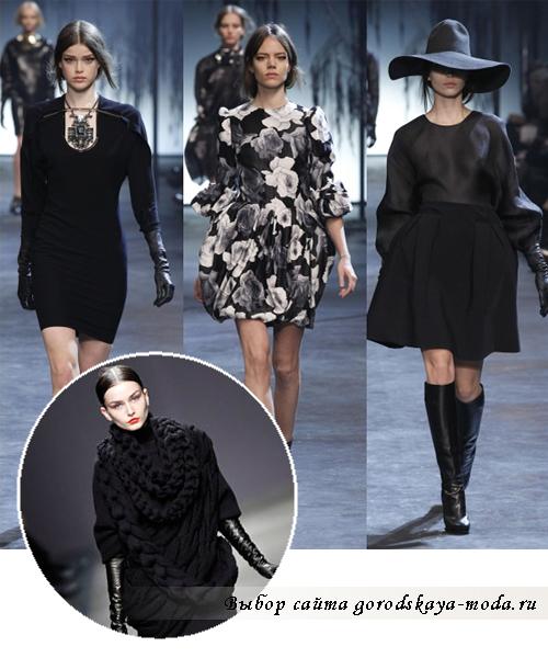 мода 2012 зима фото