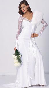 модное свадебное платье 2011-2012