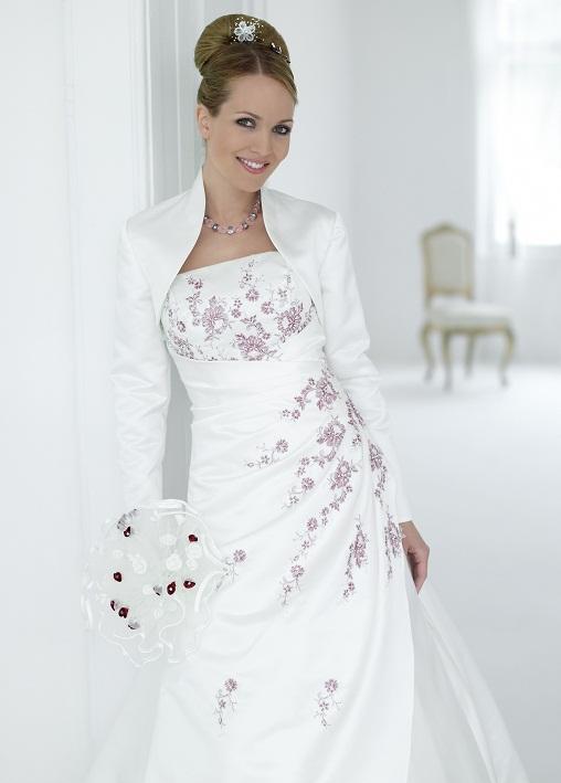 модные свадебные платья зима 2011-2012