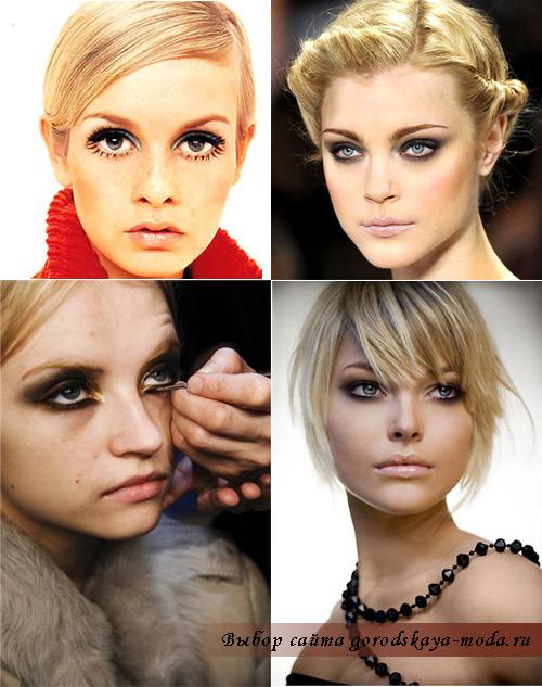 модный макияж 2012 фото