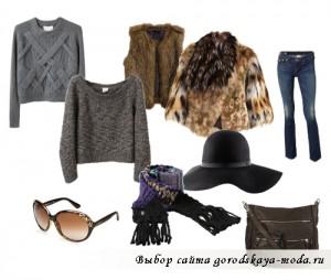 модные кофты зима 2011-2012 фото