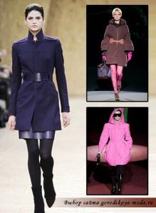 модные пальто зима 2011-2012 фото