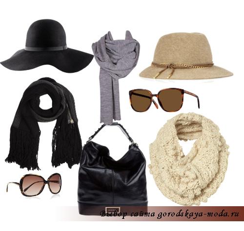 Модные шарфы и шапки 2011-2012.  Как завязывать шарф красиво и стильно?