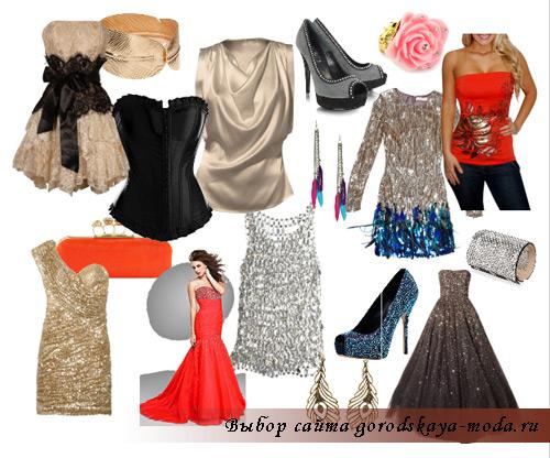 вечернее платье на новый год 2012 фото