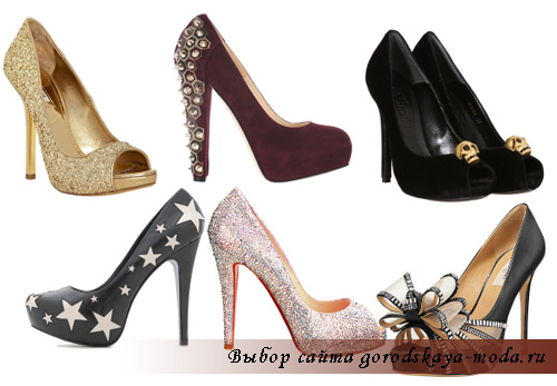 модные туфли на новый год 2012 фото