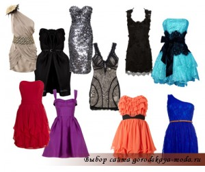 Миниатюра к статье Модные коктейльные платья на Новый год 2012
